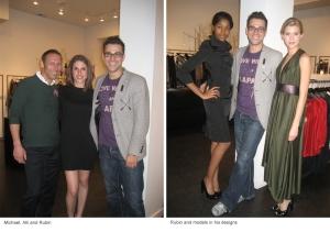 michael, alli, rubin and models