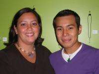 Rebecca Brady and Alex Agudo