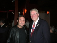 Me with Lombard Village President Bill Mueller