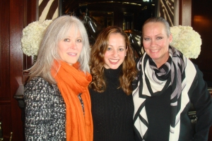 Katherine Chez, Executive Director Linda O'Keefe, and me, Candace Jordan
