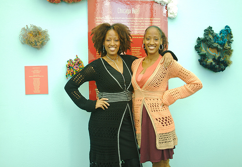 Simmons Sister, Co-Owners of Double Stitch