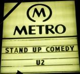 U2 at The Metro