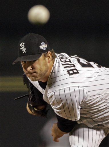 Mark Buehrle is 3-0 after the White Sox defeated the Blue Jays 10-2.
