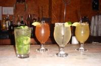 Mango Mojito, Strawberry Margarita, Salud, Cadillac Margarita
