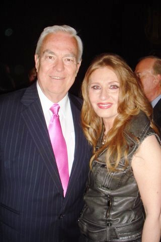 Bill Kurtis and Honoree Donna LaPietra