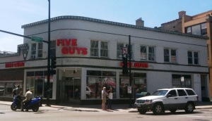 Five Guys Clark and Fullerton