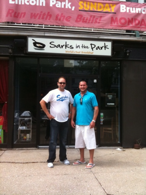 Owners Josh Alomia and Danny Gallagher open Sarkis in Lincoln Park