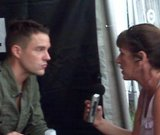 Brandon Flowers of The Killers and Cara Carriveau