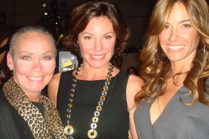NY Housewives LuAnn de Lesseps (the Countess) and Kelly Bensimon